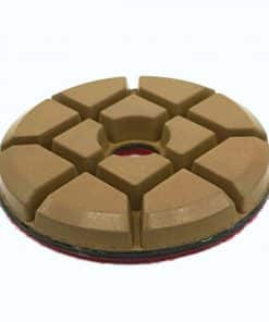 4 inch hybrid bond resin concrete floor polishing pucks