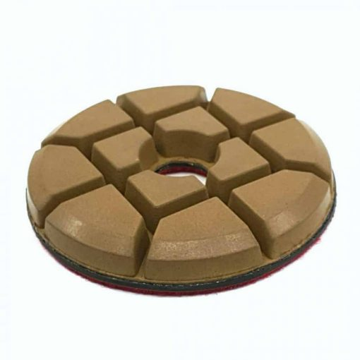 4 inch hybrid bond resin concrete floor polishing pucks 1