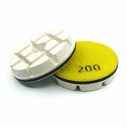 200 grit diamond resin bond polishing pucks