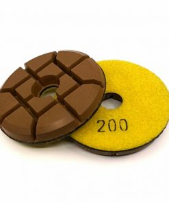 200 grit hybrid transition concrete floor polishing pucks