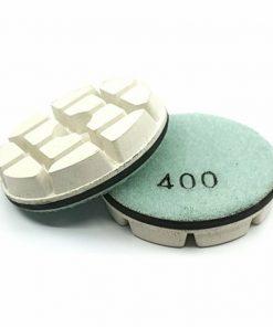 400 grit resin bond concrete floor polishing puck