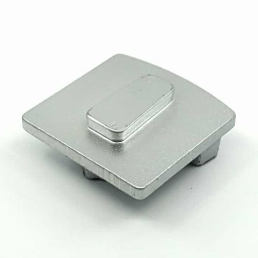 silver concrete grinding shoe